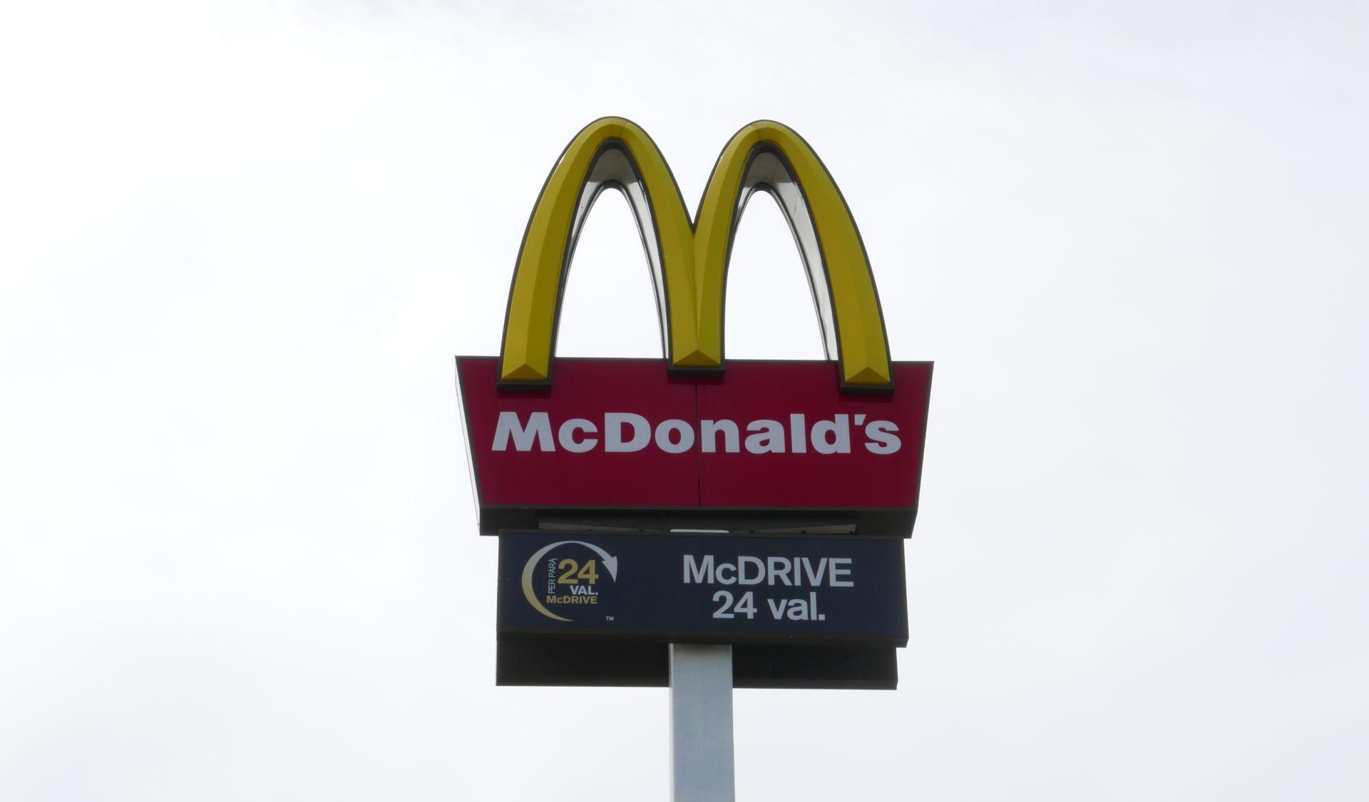 McDonalds iškaba