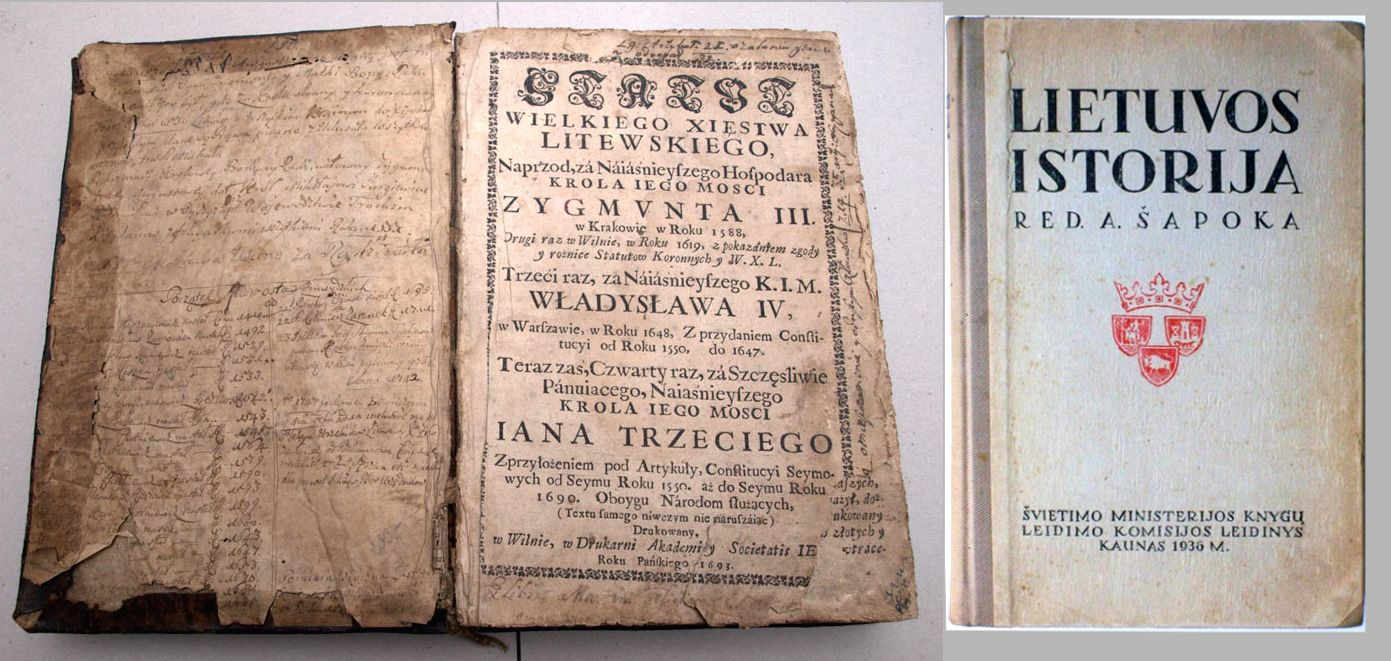 Trečias statutas ir Šapokos redaguota Lietuvos istorija